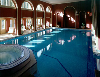 Steam Room And Swimming Pools
