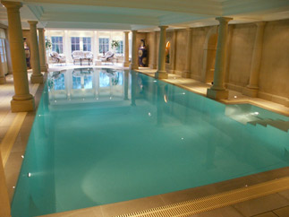 Steam room and swimming pools Swimming pools in cambridge uk